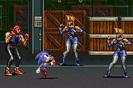 Sonic Streets Of Rage 3