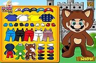 Super Mario Castle Dress Up